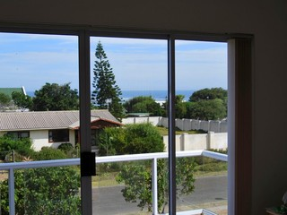 Sea view from main bedroom